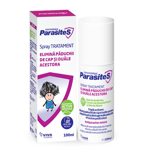 SPRAY TRATAMENT PADUCHI (100 ml) - Vitalia Pharma